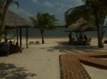 Bela paisagem: Nascer do sol na brisa da lagoa Azul