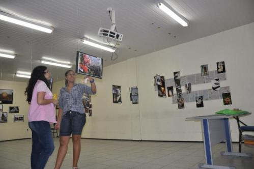 Exposição de fotografia, um espaço de reflexão das atividades realizadas na FaC