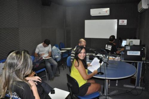 EnComFac é pauta no laboratório de rádio