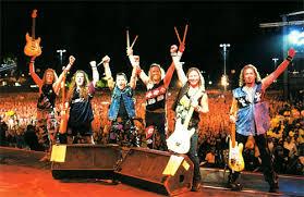 Última vinda da banda Iron Maiden ao rock in rio, em 2012!