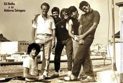 Banda em sua formação original no início dos anos 80