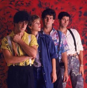 Banda ainda na época em que Leoni era integrante.