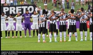 Corinthians e Atlético-MG faz 1 minuto de silêncio em homenagem ao narrador esportivo Luciano do Valle