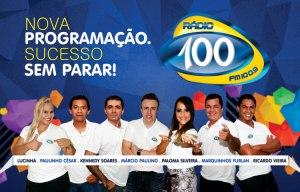 Novos locutores da Rádio 100.
