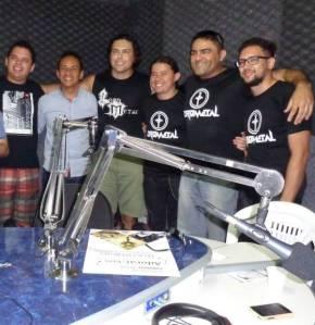 As músicas da banda são apresentadas diariamente na rádio Dom Bosco