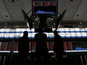 Bolsa de Valores de São Paulo (Bovespa) voltou a fechar em alta (Foto: Miguel Schincariol/AFP)
