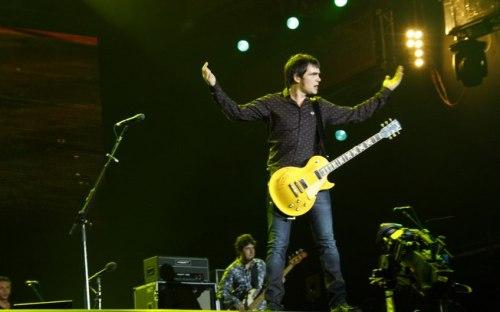 Skank abre o Palco Mundo em apresentação no Rock in Rio