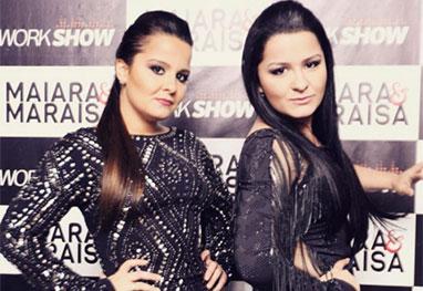 Hoje Maiara e Maraísa batem record de sucesso na internet e chegam a fazer mais de 25 shows por mês em todo o Brasil.