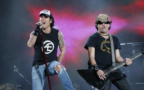 Capital Inicial no palco Mundo do Rock in Rio