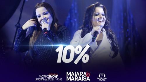 Capa do DVD 10 % gravado em Goiânia.