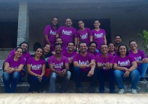 Membros da Igreja Apostólica Filhos da Luz, em Fortaleza