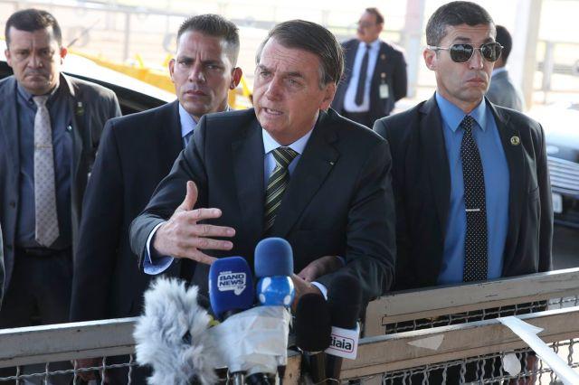 Bolsonaro discursa a respeito das queimadas na Amazônia (Antônio Cruz/ Agência Brasil)